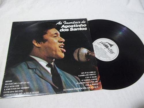 Lp Vinil - Agostinho Dos Santos - Os Imortais Original