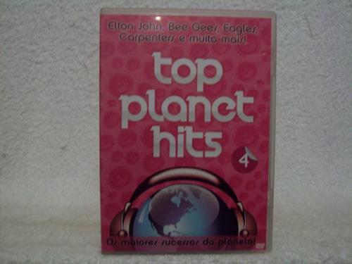 Dvd  Top Planet Hits 4 Original