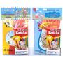 30 Kits Livro De Colorir Giz C/ Embalagem E Personalizado