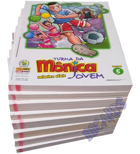 Hq Turma Da Mônica Jovem Primeira Série Edição Encadernada Original