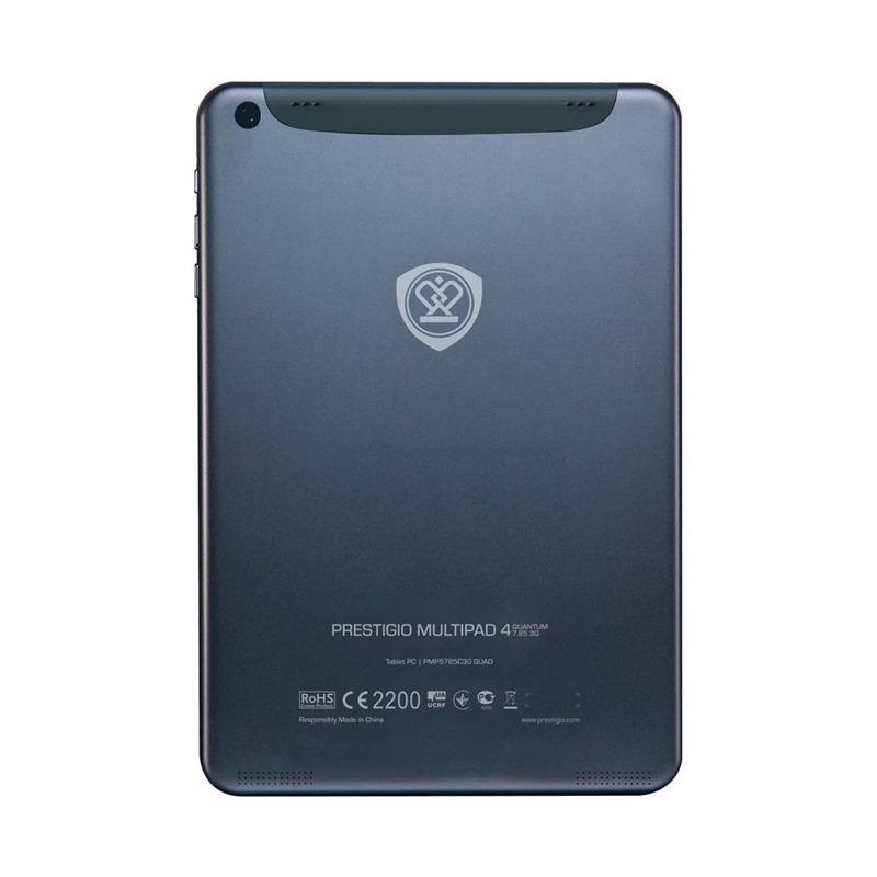 TABLET PC 7,85 POL QUAD CORE 1.6 GHZ ANDROID 4.2 1GB RAM 8 GB STORAGE PRESTIGIO PMP_QUAD 5785C