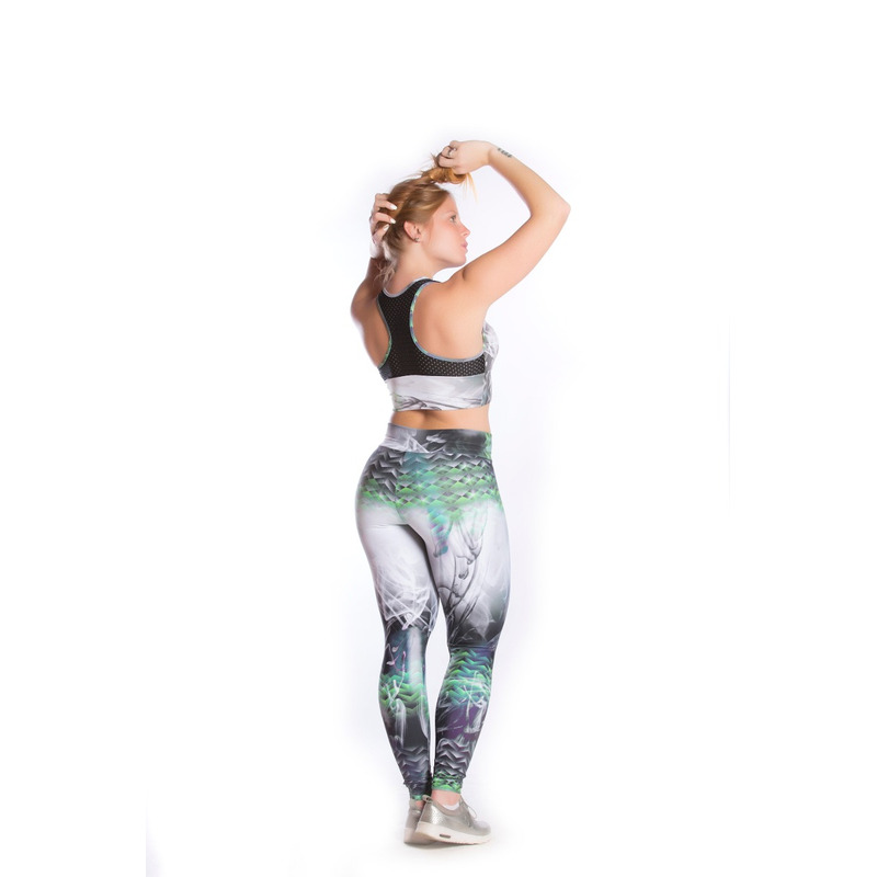 Legging Cordão Zig Zag Light Plus