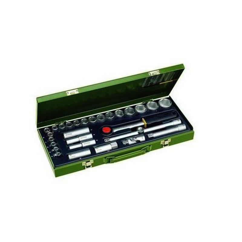 Kit de Soquetes com Catraca 29 Peças - 23000 - Proxxon