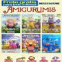 Kit 6 Revistas Amigurumis Bichinhos Crochê Frete Grátis