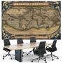 Mapa 50x75 Antigo Sec. 16 Foto Enfeite Para Sala Escritório