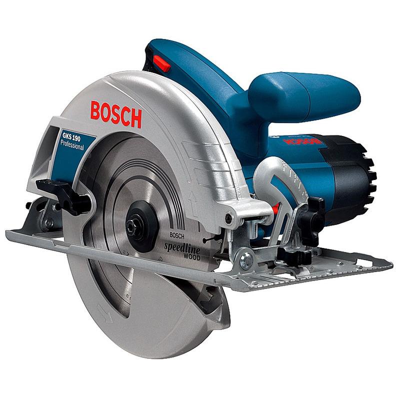 "Serra Circular 1623 GKS 190 7.1/4"" 1400 Watts - Bosch"
