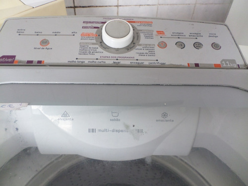 Máquina De Lavar Automática Brastemp  Branca 11kg 127v Original