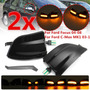 2x Dynamic Led Shell Defumado Indicador De Volta Sinal Lam