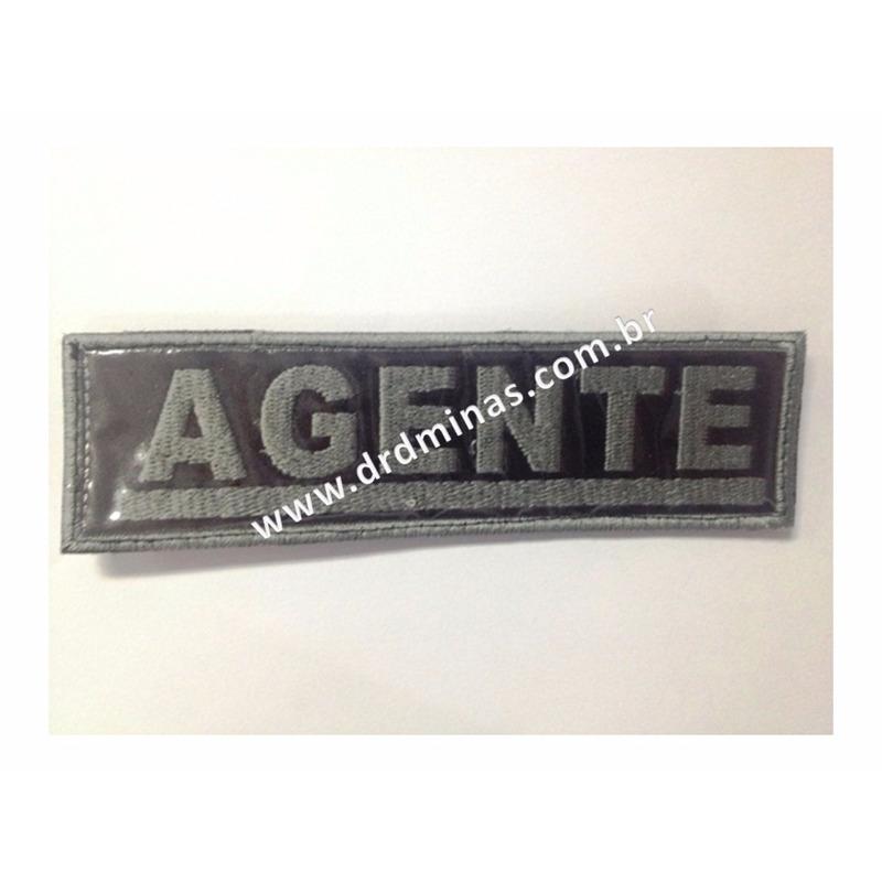 Etiqueta Bordada Agente - U  15 x 5