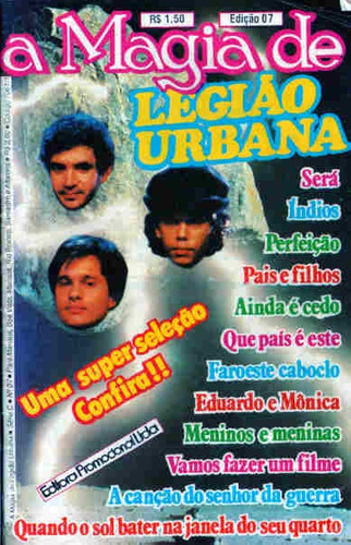 A Magia De Legião Urbana 7 Original