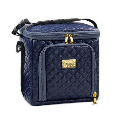 Bolsa Térmica Keeppack Mid Matelassê Azul Com Kit De Acessórios Keeppack - KP00018