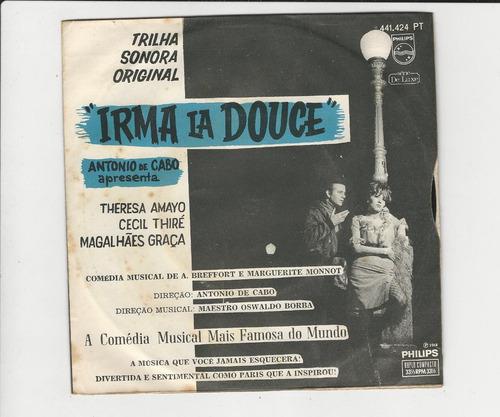 Antonio De Cabo 1968 Irma La Douce - Compacto Ep 27 Original