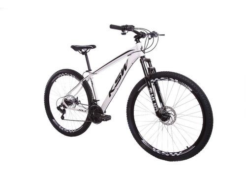 Bicicleta Ksw Aro29 Alumínio 21v Freios À Disco Original