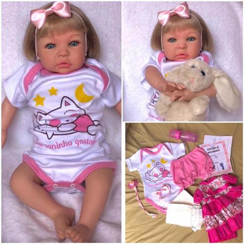 Boneca Bebe  Reborn Princesa Linda Mais Barata Linda Confira Original