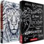 Combo Bíblia Lettering Bíblia Leão Branco Naa Jesuscopy