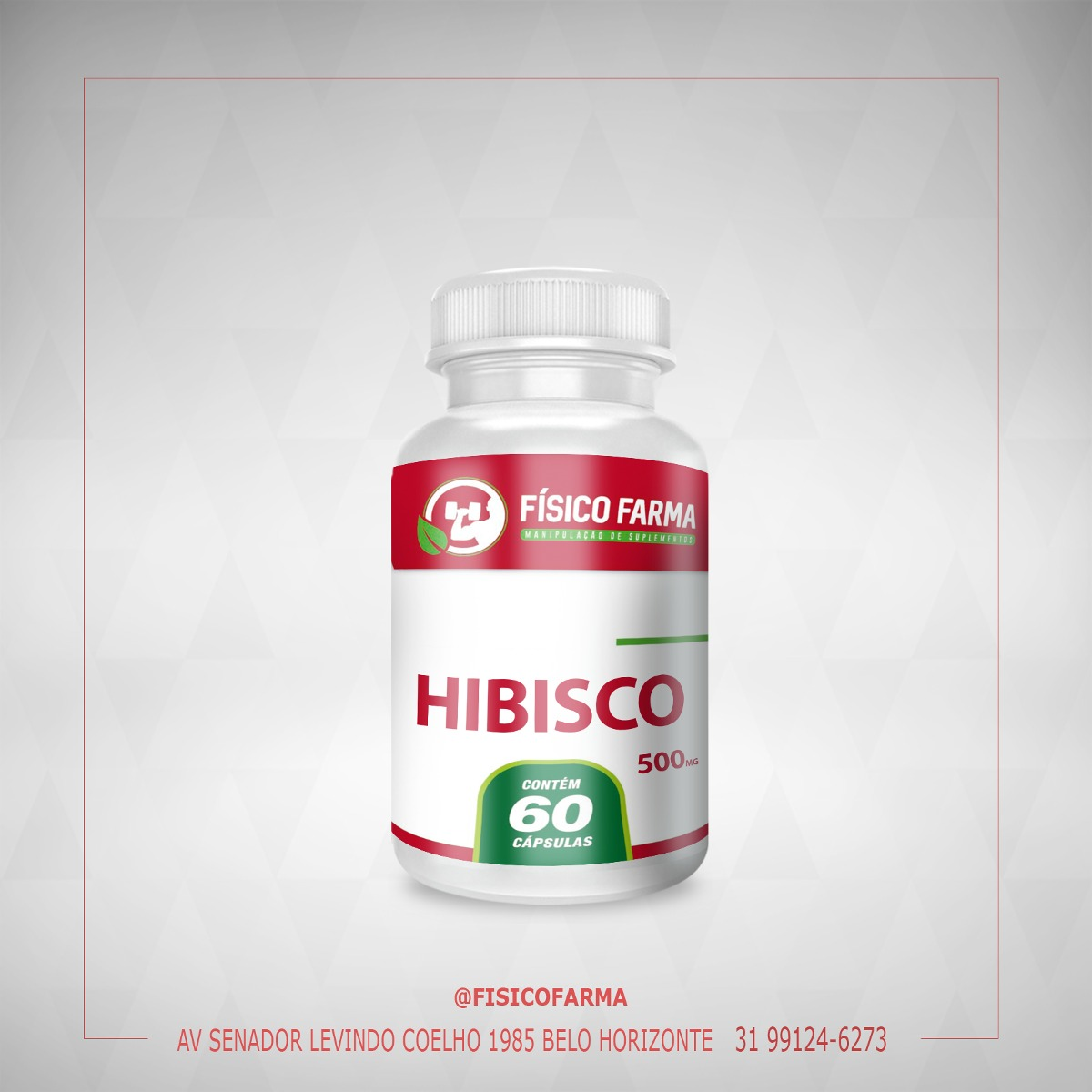 HIBISCO 500Mg - 60 Cápsulas