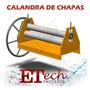 Projeto Fabricar Calandra Manual Chapas Barras 600x6, 35mm