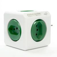 Filtro de Linha Powercube 5 tomadas Bivolt Verde PWC-R5