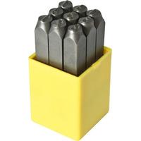 Punção numérico 4.00MM 9 peças-Rocast