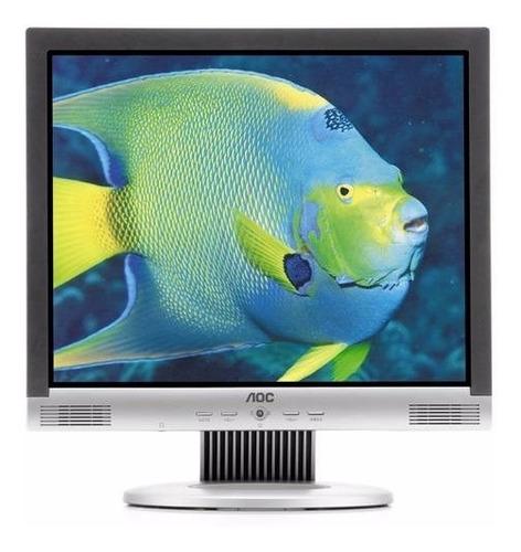Monitor De 15 Polegadas Aoc Lm522, Mancha Na Tela - P/ Peças Original