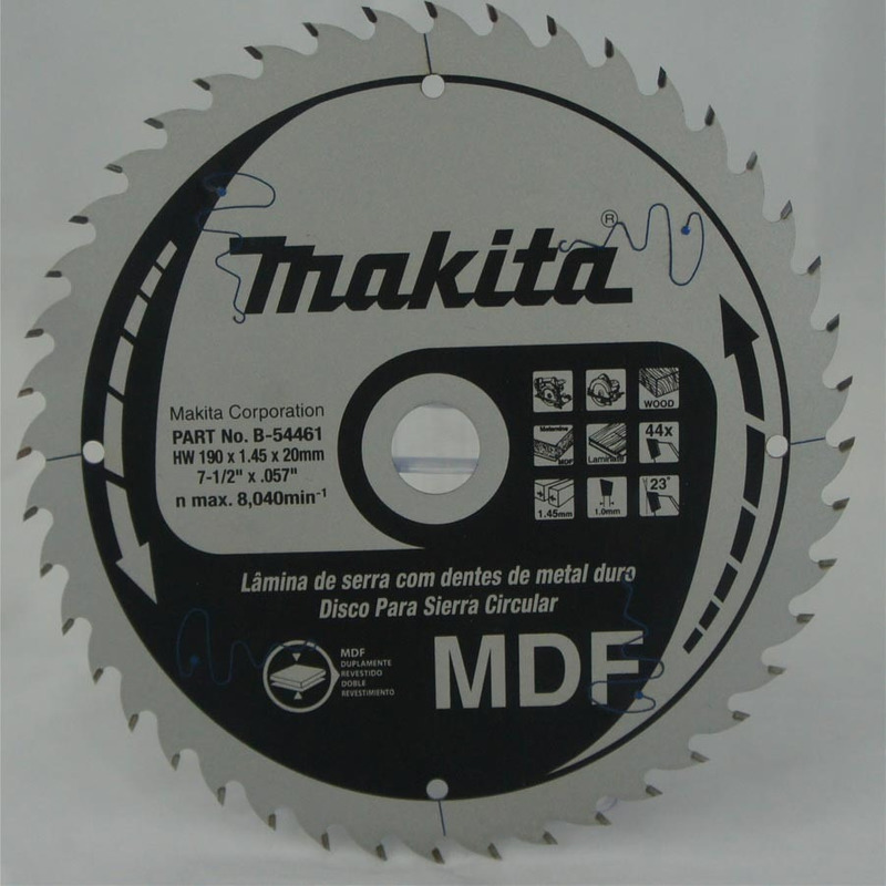 Disco de Serra 190mm 44 Dentes - B-54461 - Makita<BR>