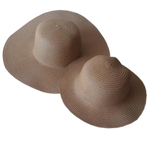 8 Chapéu De Praia Tal Mãe Tal Filha Para Customizar 4 Pares Original
