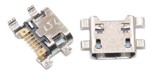 Kit 10 Conector Carga Dock Usb LG K10, K430tv, K430dsf Original