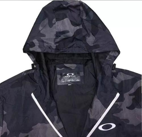 87b3018a2 Jaqueta Blusa Corta Vento Oakley Impermeável Refletivo à venda em ...