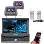 Dvd Player Retratil Positron Bluetooth 2 Encosto De Cabeca
