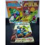 Lote 3 Hq Hulk C/ Thor E Dicionario Marvel Abril 1983 Rjhm