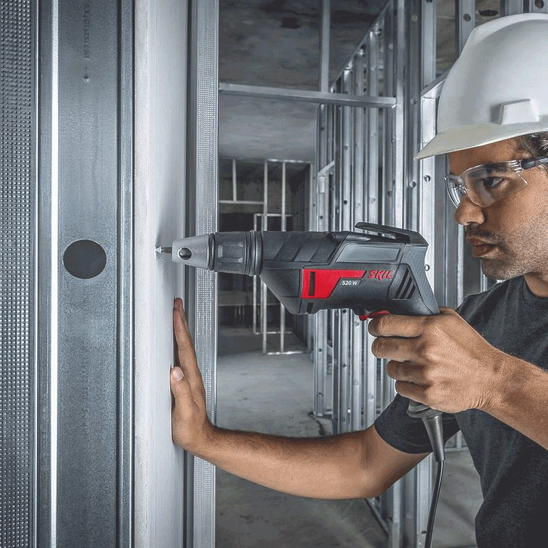 Parafusadeira Elétrica para Drywall 520 Watts - 6520 - Skil