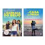 2 Livros: A Barraca Do Beijo 1 Netflix A Casa Da Praia