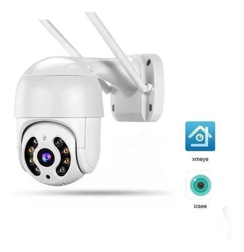Câmera Ip Wifi Rotativa Externa Dome Prova De Água Hd Full Original