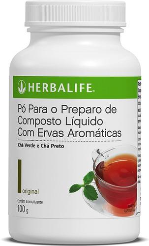 Cha Herbalife Termogenico 100g Original Fiberbond A Venda Em Mooca