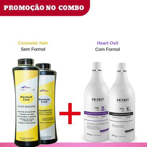 Progressiva Organica Perfect Liss  E Heart Osil Com Formol Original