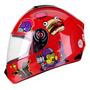 Capacete Moto Infantil Criança Fly Fun Game