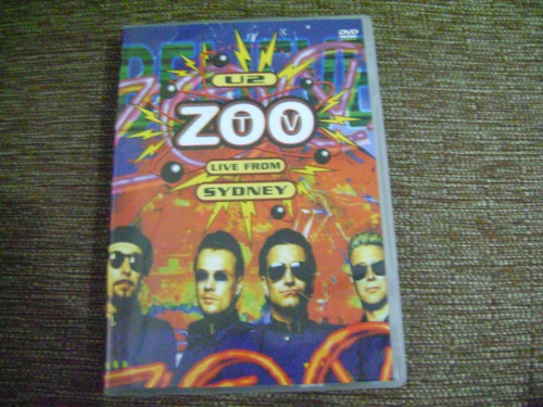 Dvd  U2 Zootv Live From Sydney E7b3 Original