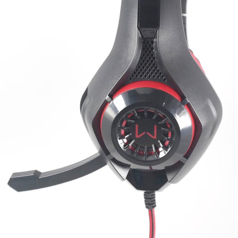 Fone de Ouvido Gamer Headset Com LED Vermelho Multilaser  PH219