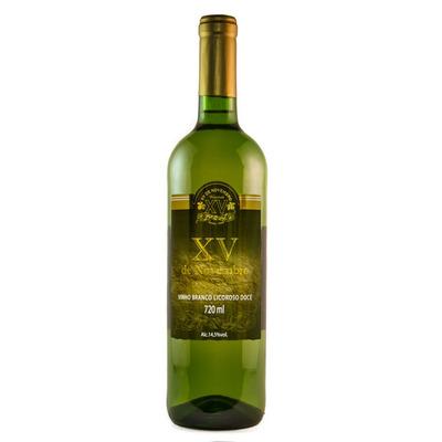 Vinho Branco Licoroso Doce Niagara 720ml - XV de Novembro