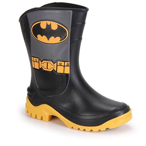 Galocha Infantil Grendene Batman - Preto