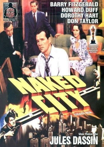 Dvd Filme - Jules Dassin - Naked City Original