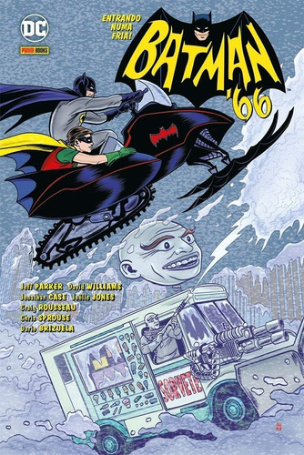 Hq - Batman 66. Entrando Numa Fria - Capa Dura Original