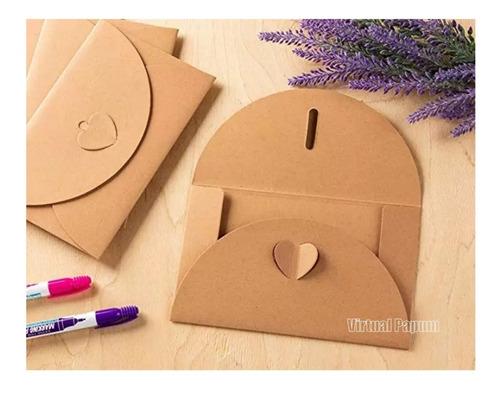 50 Envelope Fa Para Convite De Casamento Rústico 15x10 Original