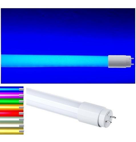 Lâmpada Tubo Led T8 18w Colorida Cores Escolha Kit 3 Peças Original