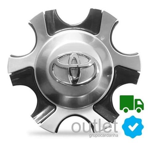 4 Calota Tampa De Roda Aro 18 Toyota Hilux Srx Sw4 Tdi 4x4 Original