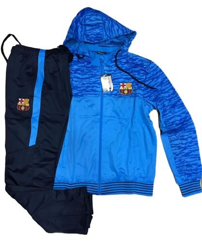 Conjunto Do Barcelona Agasalho Novo Calça E Blusa Barça Time à venda ... 5c649610ee8f0