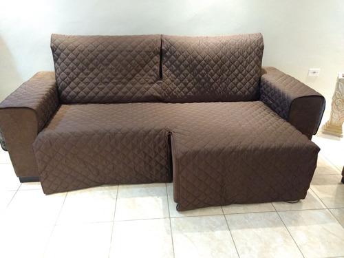 Protetor De Sofa Retratil  Acento  1,80 2 Mod [forrado]