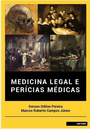 Livro - Medicina Legal E Perícias Médicas Original