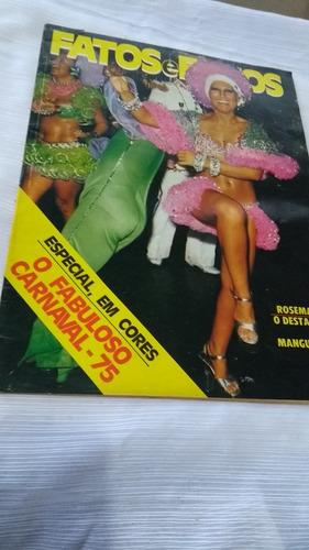Fatos E Fotos Especial Em Cores O Carnaval 75 Capa Rosemary Original
