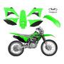 Kit Plásticos Carenagem Crf 230 2019 Biker Com Adesivos